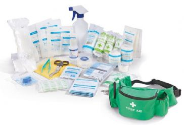 Click Medical Personal Sports First Aid Kit In Bumbag (CM0060)